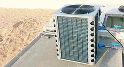 Swimming pool cooler heater Dubai UAE