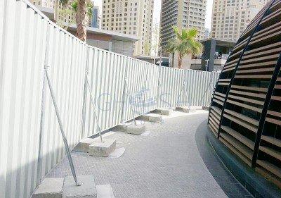 Hoarding panel sheet supplier in UAE | Oman | Saudi | Qatar