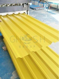 RAL 1021 profile sheet supplier in UAE | Oman | Saudi | Qatar