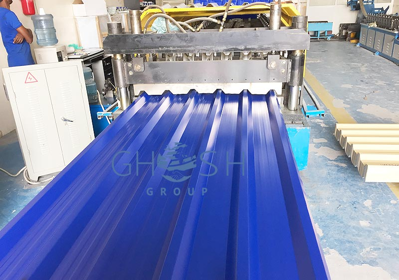RAL 5002 2 profile sheet supplier in UAE | Oman | Saudi | Qatar