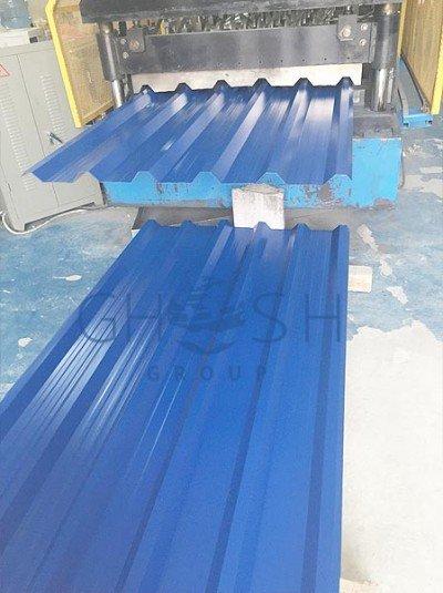 RAL 5010 1 profile sheet supplier in UAE | Oman | Saudi | Qatar