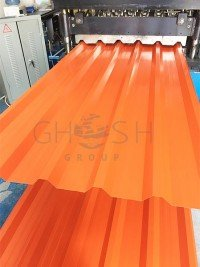RAL 2004 4 profile sheet supplier in UAE | Oman | Saudi | Qatar