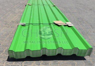 Profile sheet (green) supplier in UAE Oman Saudi Qatar