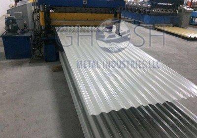 PPGI Corrugated sheet supplier in UAE | Oman | Saudi | Qatar