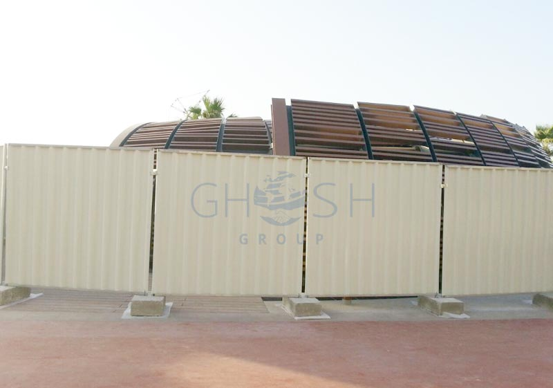 Temporary Fencing Sheet Supplier In Uae Oman Saudi