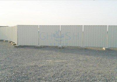 Temporary fencing sheet supplier in UAE | Oman | Qatar | Saudi