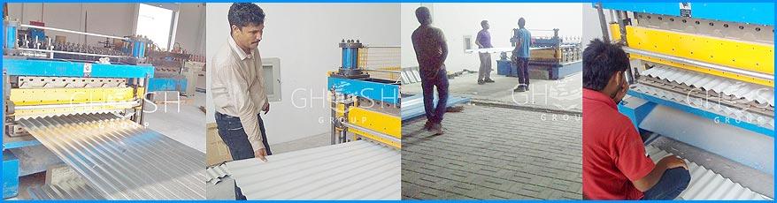Galvanized & Aluminum Corrugated Sheet Manufacturer & Supplier in UAE | Oman (Salalah, Muscat, Sohar, Nizwa, Barka, Ibri) | Saudi | Iraq | Kuwait | Bahrain
