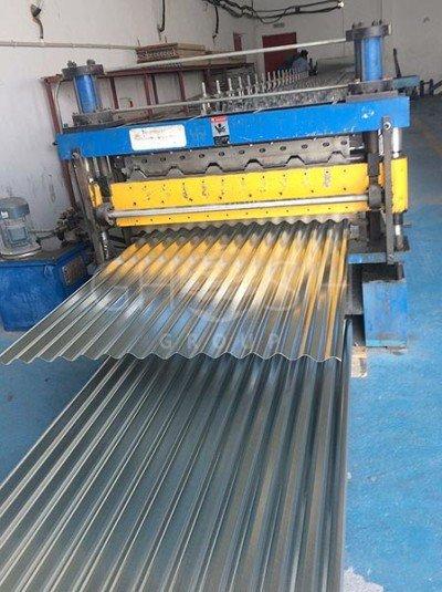 Corrugated roofing sheet manufacturer, supplier in UAE | Oman | Saudi | Dubai