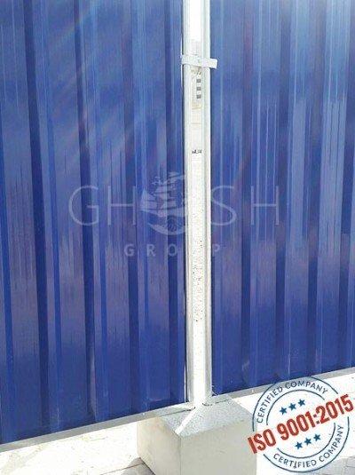 RAL 5010 Dark Blue Fencing Panel supplier UAE Oman Saudi Iraq Kuwait Bahrain