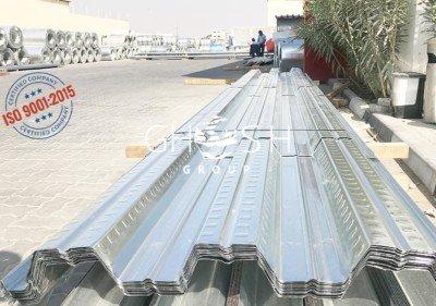 Customised Decking sheet thickness supplier in UAE | Oman (Salalah, Muscat, Sohar, Nizwa, Barka, Ibri) | Saudi | Iraq | Kuwait | Bahrain