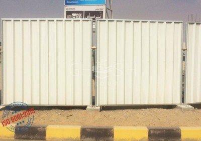 DisContinuous / Continuous Corrugated Steel Fence UAE | Iraq | Saudi | Oman (Salalah, Muscat, Sohar, Nizwa, Barka, Ibri) | Kuwait | Bahrain