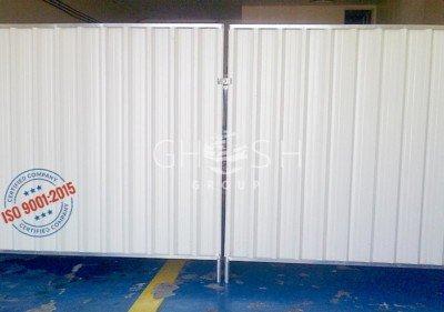 DisContinuous / Continuous Corrugated Steel Fence UAE | Oman (Salalah, Muscat, Sohar, Nizwa, Barka, Ibri) | Saudi | Iraq | Kuwait | Bahrain