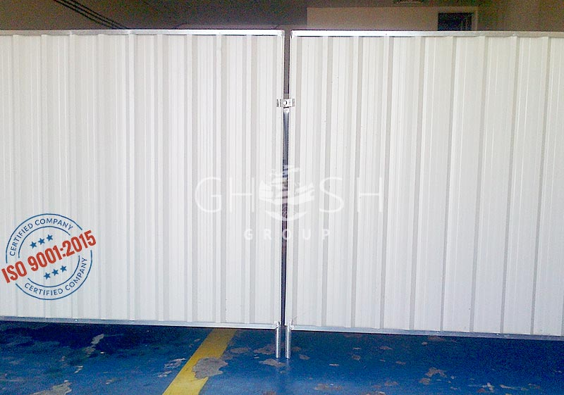 DisContinuous / Continuous Corrugated Steel Fence UAE | Oman