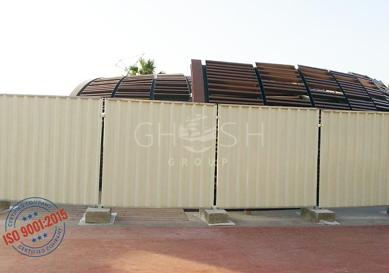 Temporary fencing suppliers in Oman | Saudi | Iraq | Kuwait