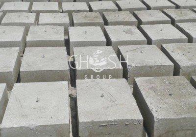 Concrete nut blocks - 600 x 400 x 200