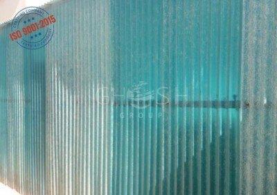 Corrugated PVC transparent fencing supplier UAE | Oman (Salalah, Muscat, Sohar, Nizwa, Barka, Ibri) | Saudi | Iraq | Kuwait | Bahrain