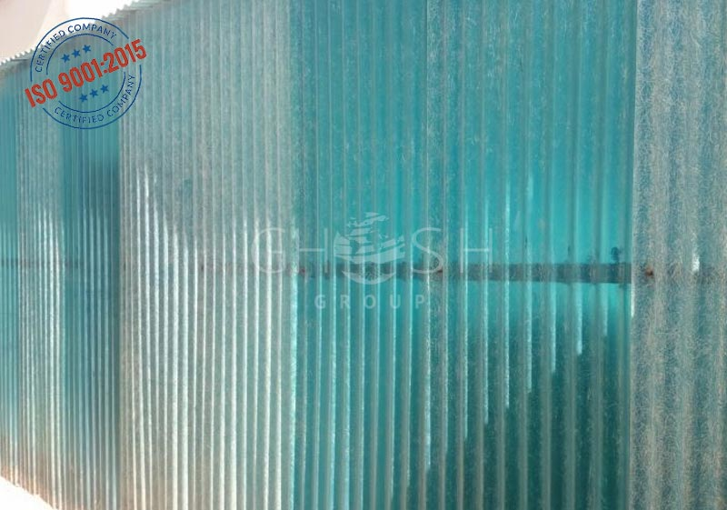 On Time Delivery By Corrugated Pvc Transparent Fencing