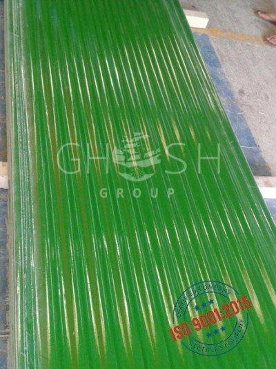 Corrugated Sky Light S Type Green PVC supplier in UAE | Oman (Salalah, Muscat, Sohar, Nizwa, Barka, Ibri) | Saudi | Iraq | Kuwait | Bahrain