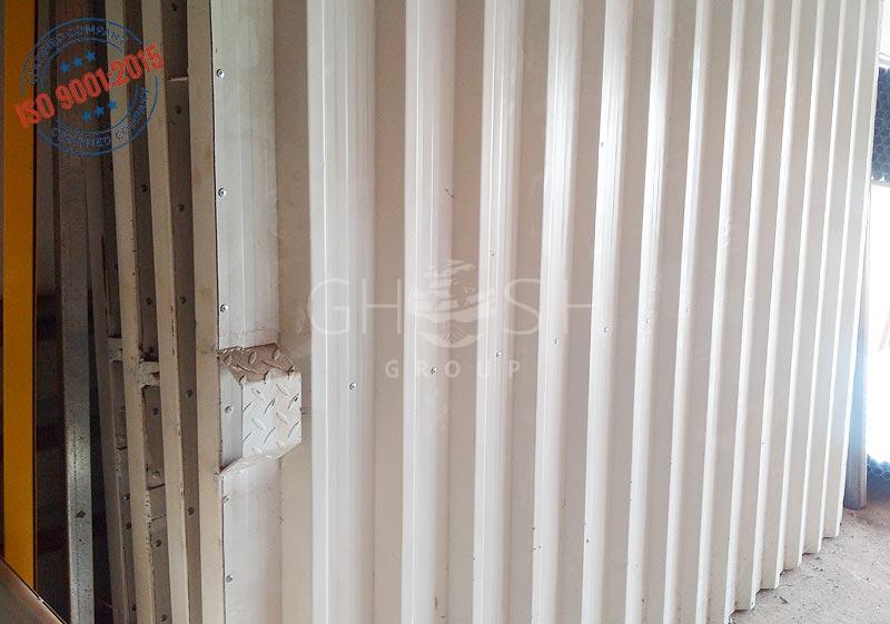 Corrugated gate fencing supplier UAE | Oman| Saudi | Iraq
