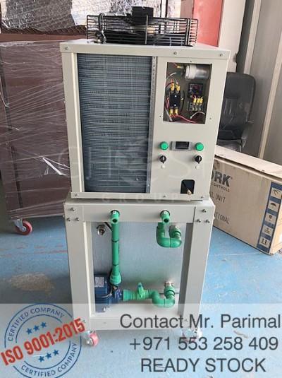 3 ton water chiller with in-built tank supplier - UAE | Oman (Salalah, Muscat, Sohar, Nizwa, Barka, Ibri) | Saudi | Iraq | Kuwait | Bahrain