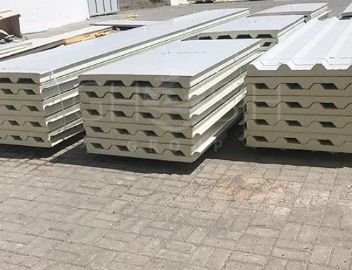 Tiles profile sandwich panels UAE - Ghosh Group