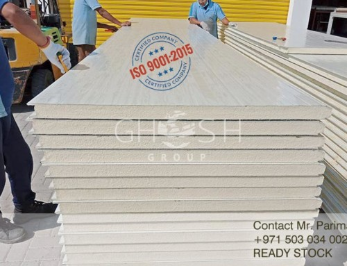 45x250 Sandwich roof panel Supplier Dubai + Wide rage of RAL